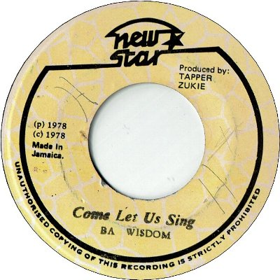 COME LET US SING (VG+) / VERSION (VG)