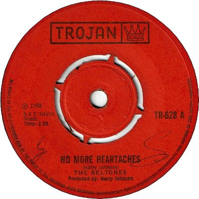 NO MORE HEARTACHE (VG+/WOL) / I'LL FOLLOW YOU (VG+/WOL)