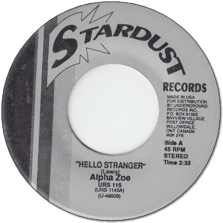 HELLO STRANGER (VG+) / ONCE UPON A TIME (VG+)