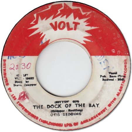 THE DOCK OF THE BAY (VG) / SWEET LORENE (VG-)