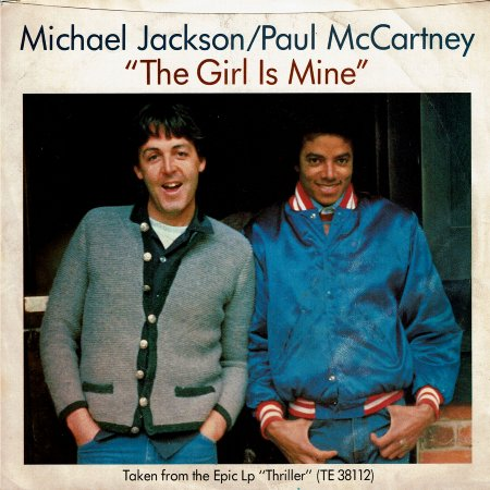 THE GIRL IS MINE (EX) / CAN'T GET OUTTA THE RAIN