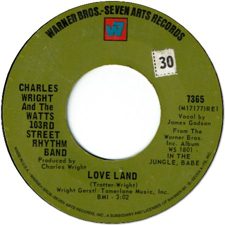 LOVE LAND (VG+) / SORRY CHARLIE