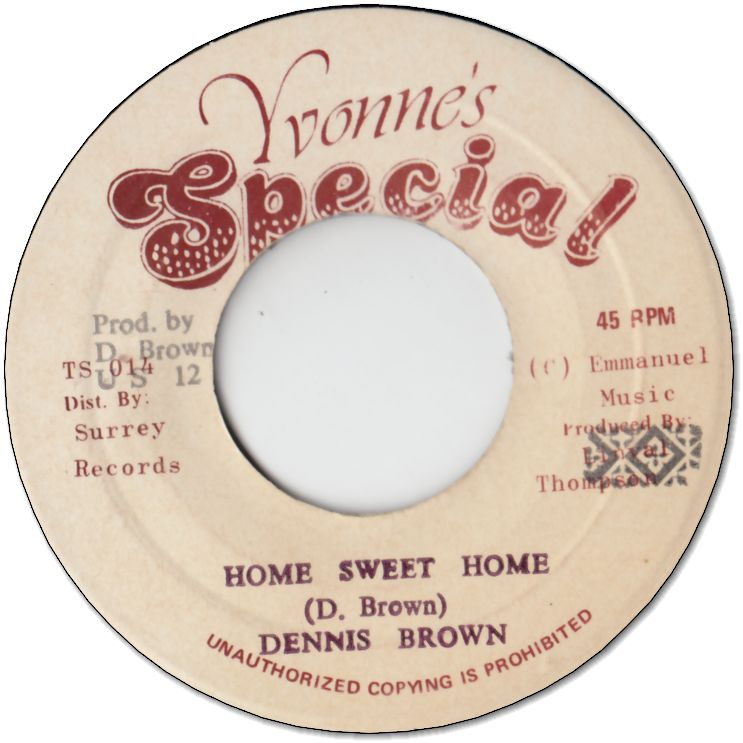 HOME SWEET HOME (VG+) / VERSION (VG+)