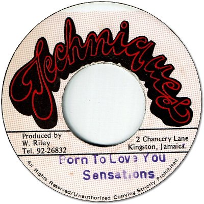 BORN TO LOVE YOU (VG+) / VERSION