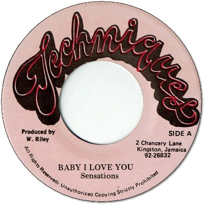BABY LOVE (VG+) / PLEASE RETURN YOUR LOVE (VG+)