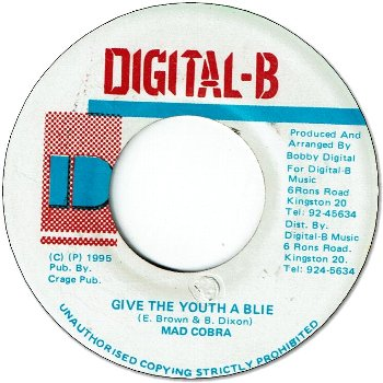 GIVE THE YOUTH A BLIE (VG+)