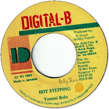 HOT STEPPING (VG+/WOL/seal)