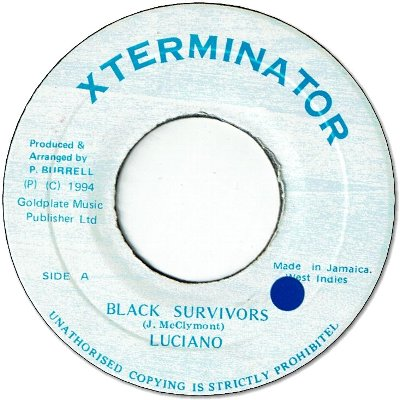 BLACK SURVIVORS (VG+/seal)