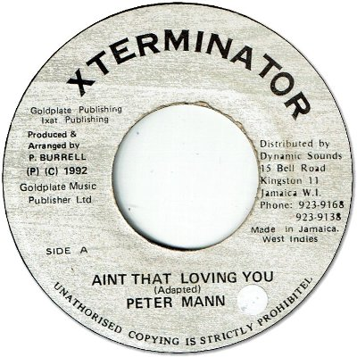AINT THAT LOVING YOU  (VG/seal)
