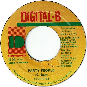 PARTY PEOPLE (VG+/seal)