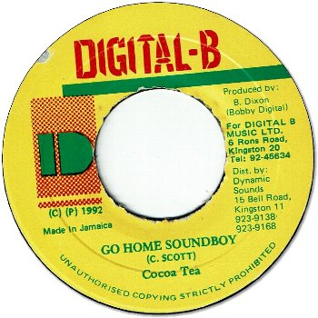 GO HOME SOUNDBOY (VG+)