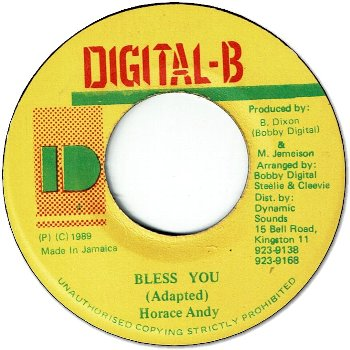 BLESS YOU (VG)