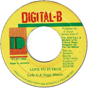 LOVE YU FI TRUE (VG+)