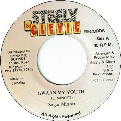 GWAAN MY YOUTH (VG+)