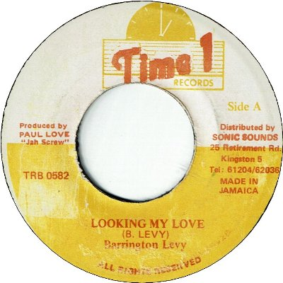 LOOKING MY LOVE (VG+)