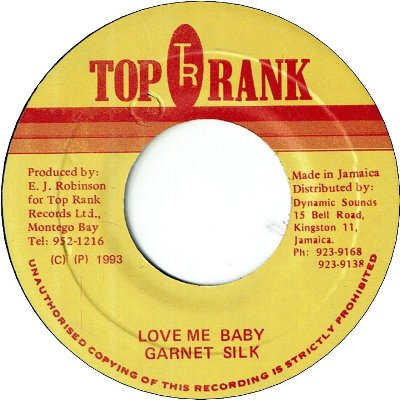LOVE ME BABY (VG+)