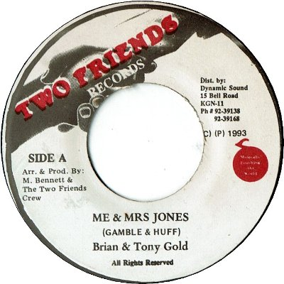 MR.& MRS JONES (VG+)