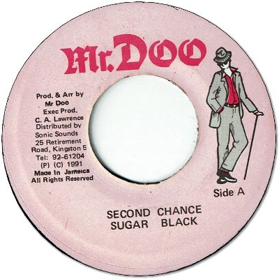 SECOND CHANCE (VG+)