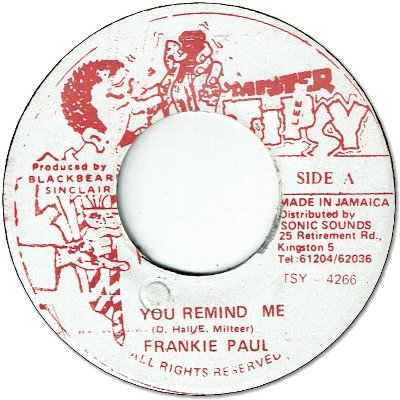 YOU REMIND ME (VG+)