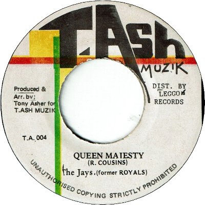 QUEEN MAJESTY (VG+)