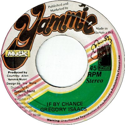IF BY CHANCE (VG+)
