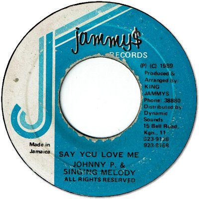 SAY YOU LOVE ME (VG/LD)