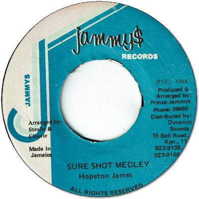 SURE SHOT MEDLEY (VG+)