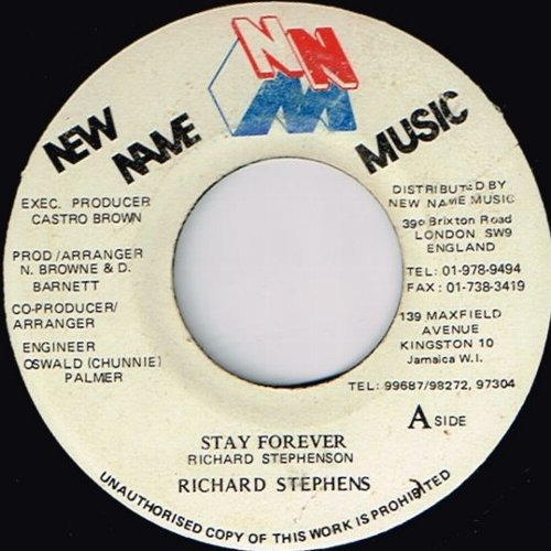STAY FOREVER (VG)
