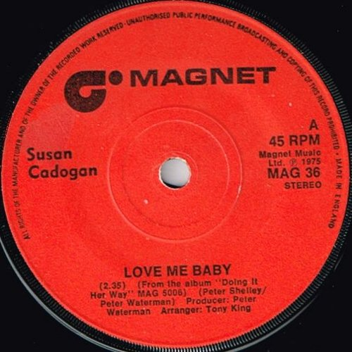 LOVE ME BABY (VG+) / CALL MY NAME (VG+)