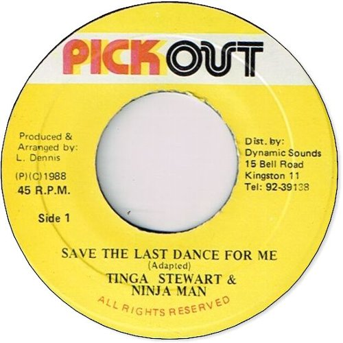 SAVE THE LAST DANCE (VG)