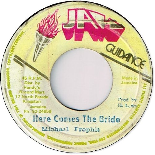 HERE COMES THE BRIDE (VG-)