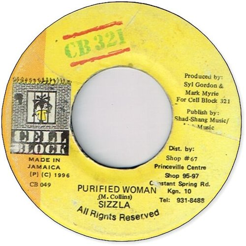 PURIFIED WOMAN  (VG〜VG+)