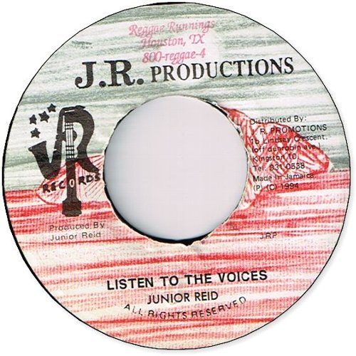 LISTEN TO THE VOICES (VG+/Stamp)