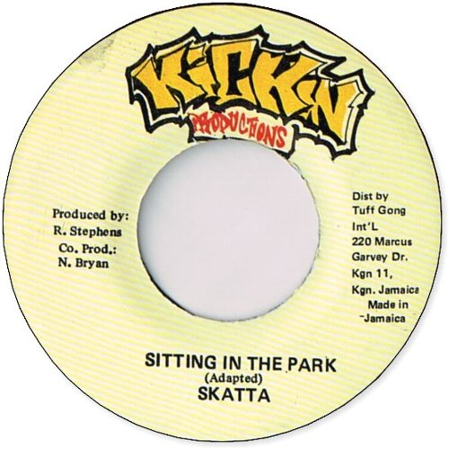 SITTING IN THE PARK (VG+)