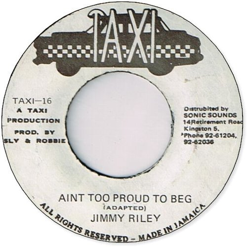 AIN'T TOO PROUD TO BEG (VG+〜VG)