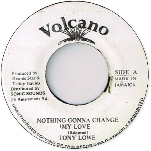 NOTHING GONNA CHANGE MY LOVE (VG+)