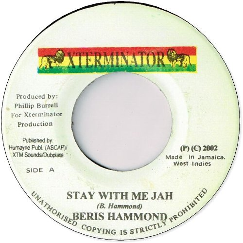 STAY WITH ME JAH (EX)
