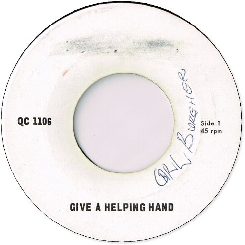 GIVE A HELPING HAND (VG+) / NEW STYLE (VG+)