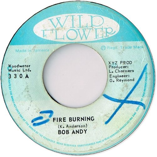 FIRE BURNING (VG+/WOL) / BURNING DRUMS