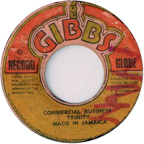 COMMERCIAL BUSINESS (VG〜VG+)
