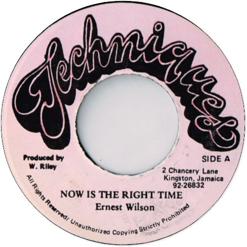 NOW IS THE RIGHT TIME (EX) / Version