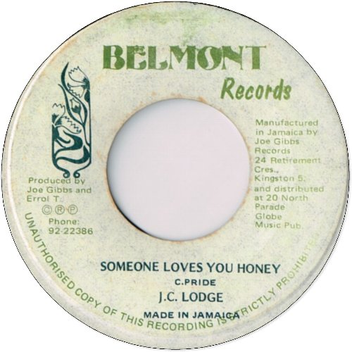 SOMEONE LOVES YOU HONEY (VG-)