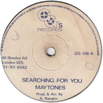 SEARCHING FOR YOU (VG) / Part Two (VG)