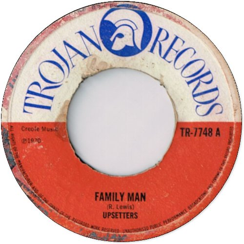 FAMILY MAN (VG- to VG+) / MELLOW MOOD (VG- to VG)