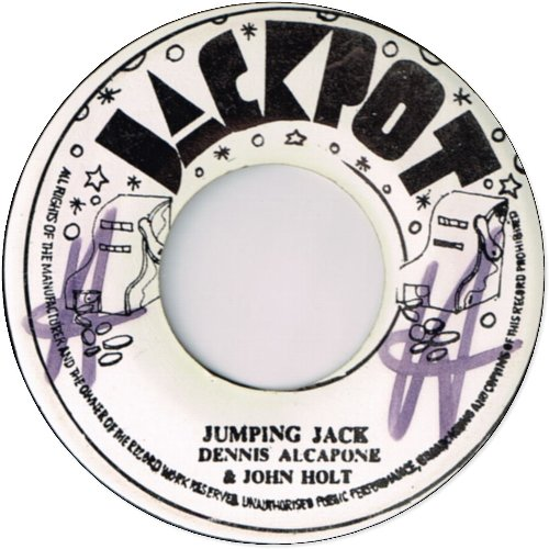 JUMPING JACK (VG to VG+/WOL) / KING OF THE TRACK (VG+/WOL)