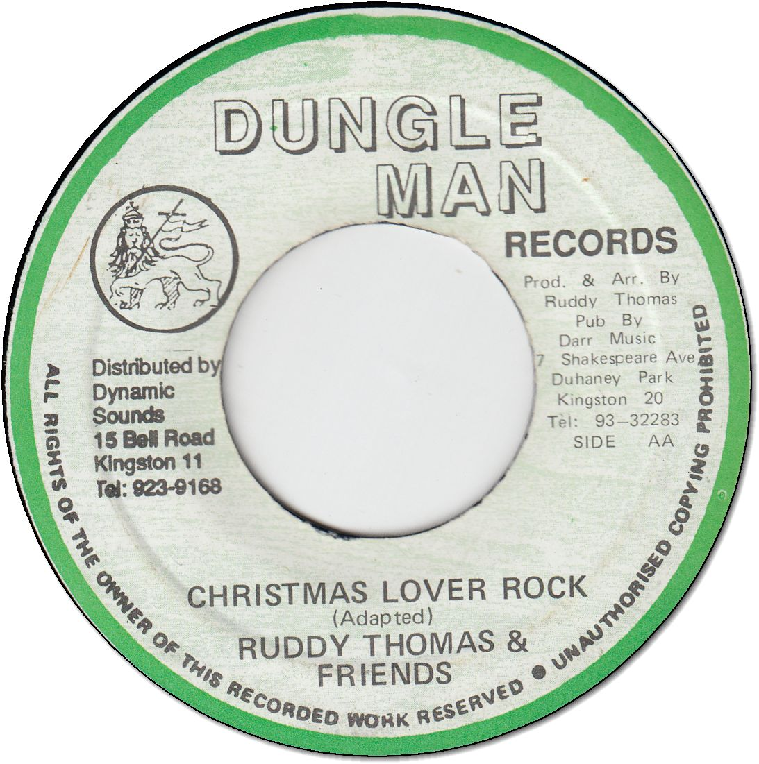 CHRISTMAS LOVER ROCK (VG+)