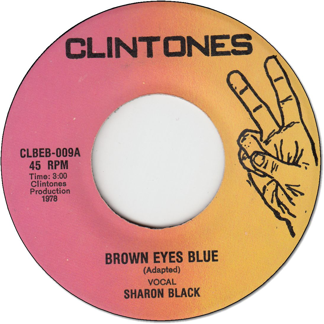 BROWN EYES BLUE (VG+)