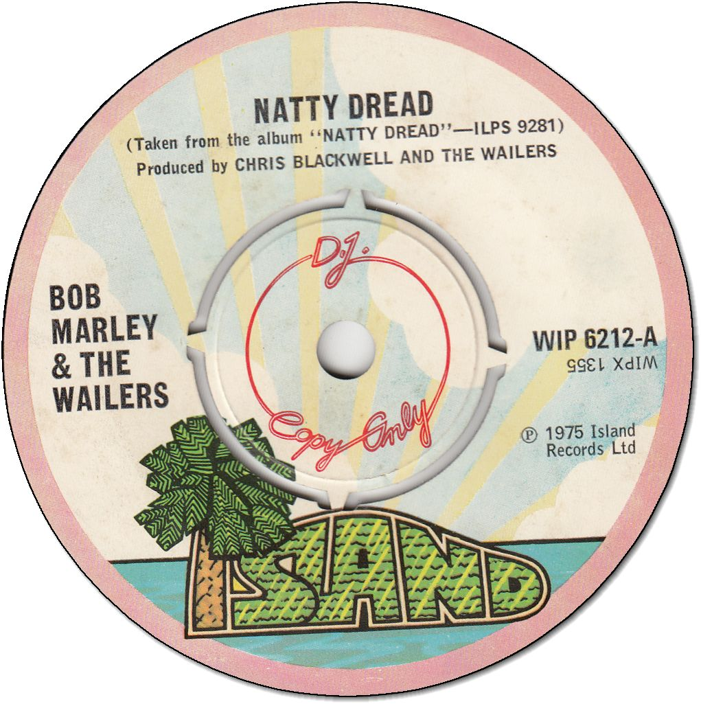 NATTY DREAD (VG+) / SO JAH SHE (VG+)