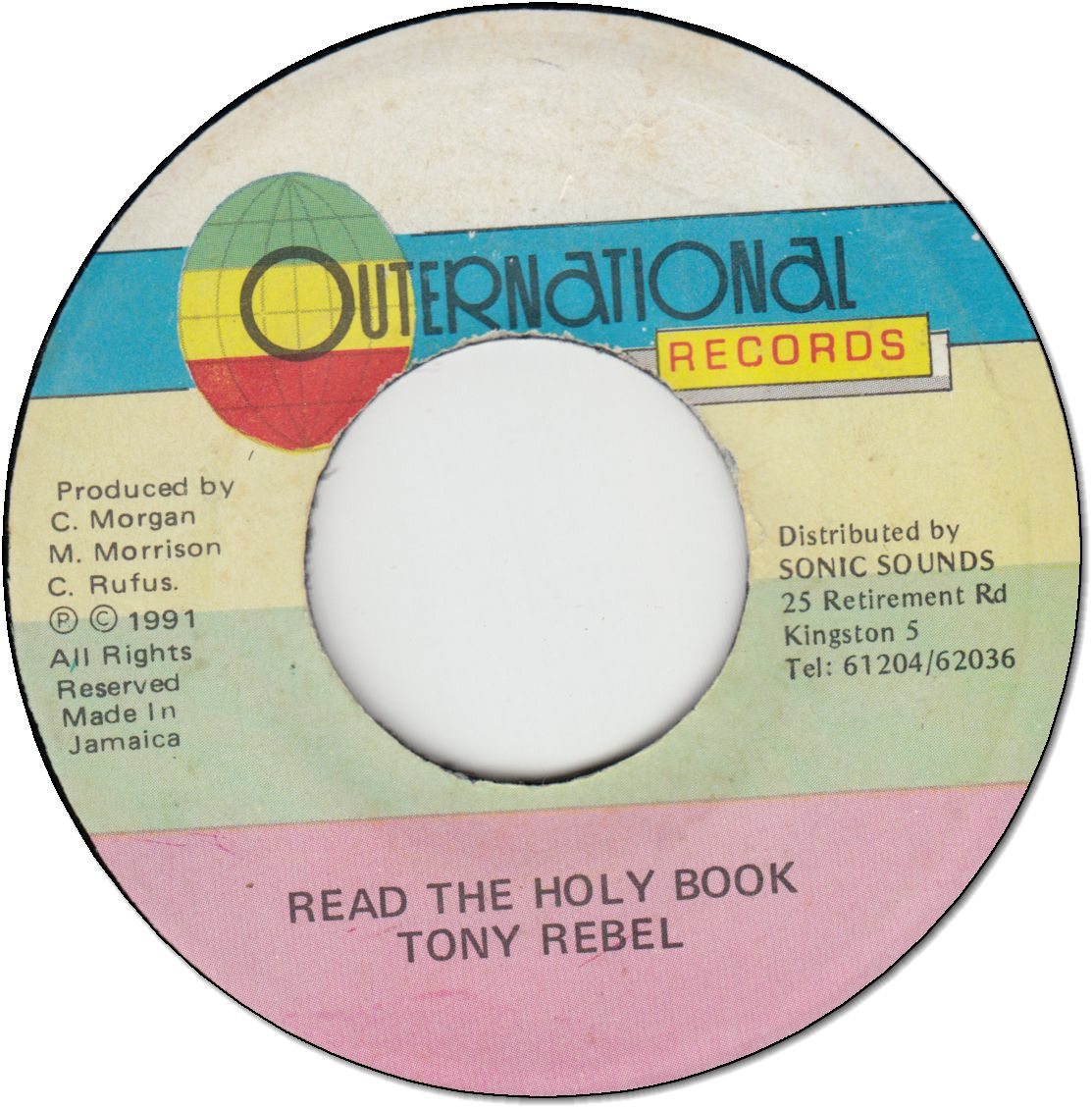 READ THE HOLLY BOOK (VG to VG+)