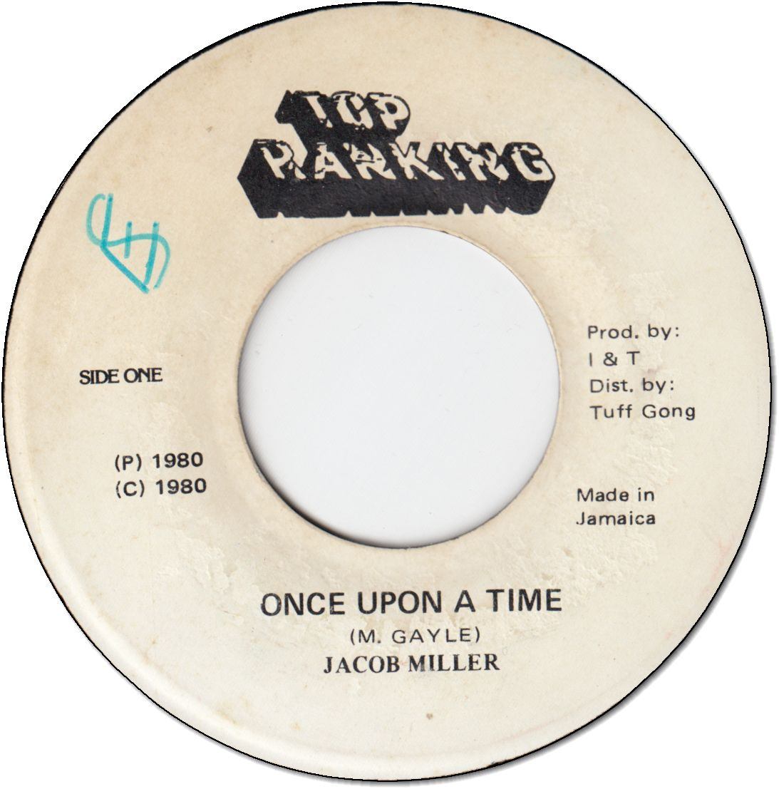 ONCE UPON A TIME (VG+/WOL) / TIME (VG)